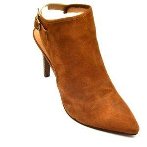 Lucky Brand Leather Buckle Slingback Sandal 11